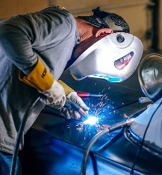 welding car in Normal AL